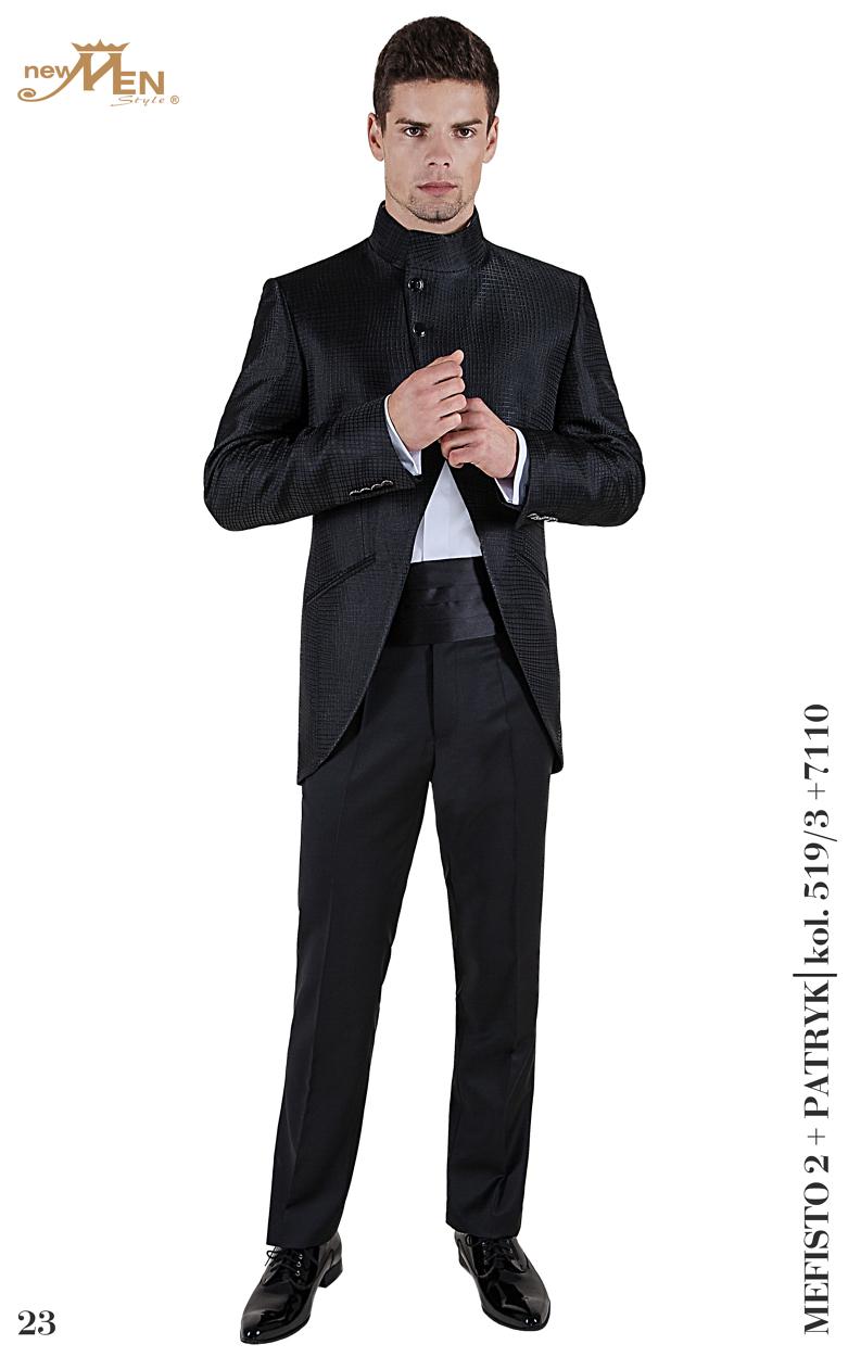 dreiteilige Anzüge Bräutigamanzug Mefisto