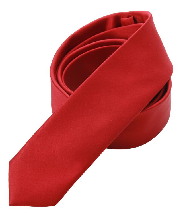 Bräutigamaccessoires Krawatte, rot Satin